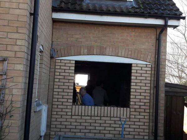 Carver garage conversion
